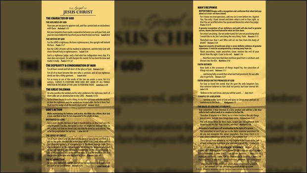 HeartCry Gospel Tract Sports