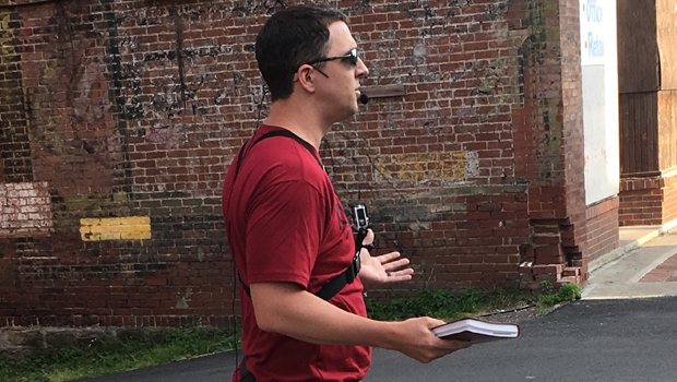 Adam Preaching