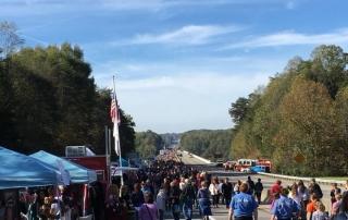Bridge Day 2017 crowds