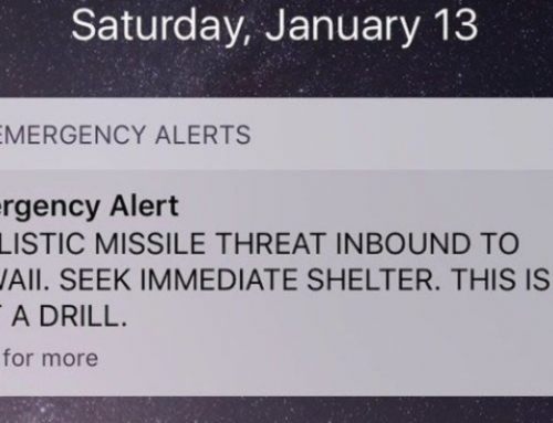 No, This Is Not A Drill