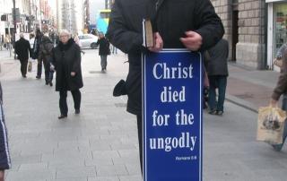 Jimmy Hamilton Preaching in Dublin