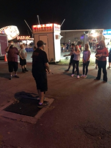 Sketch Evangelism at Frontier Days