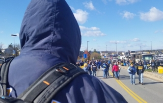 A view from the frontlines at WVU vs TCU